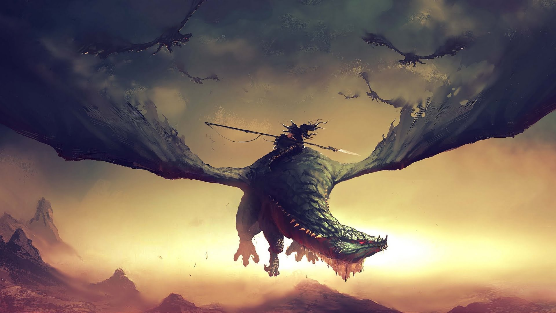 dragon backgrounds