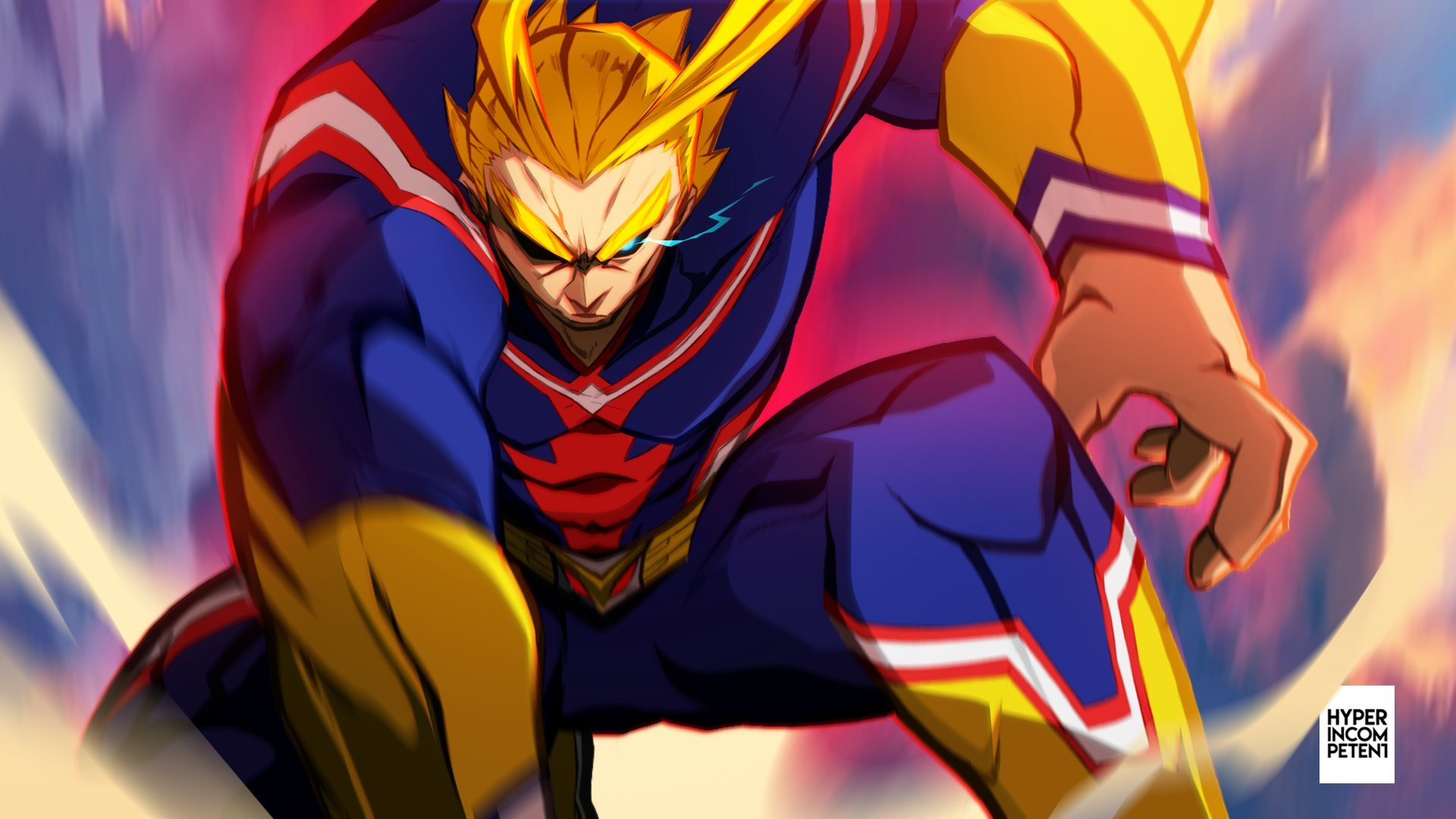 All Might Wallpaper – Became a hero wallpaper, anime, my hero academia, all might, izuku midoriya.