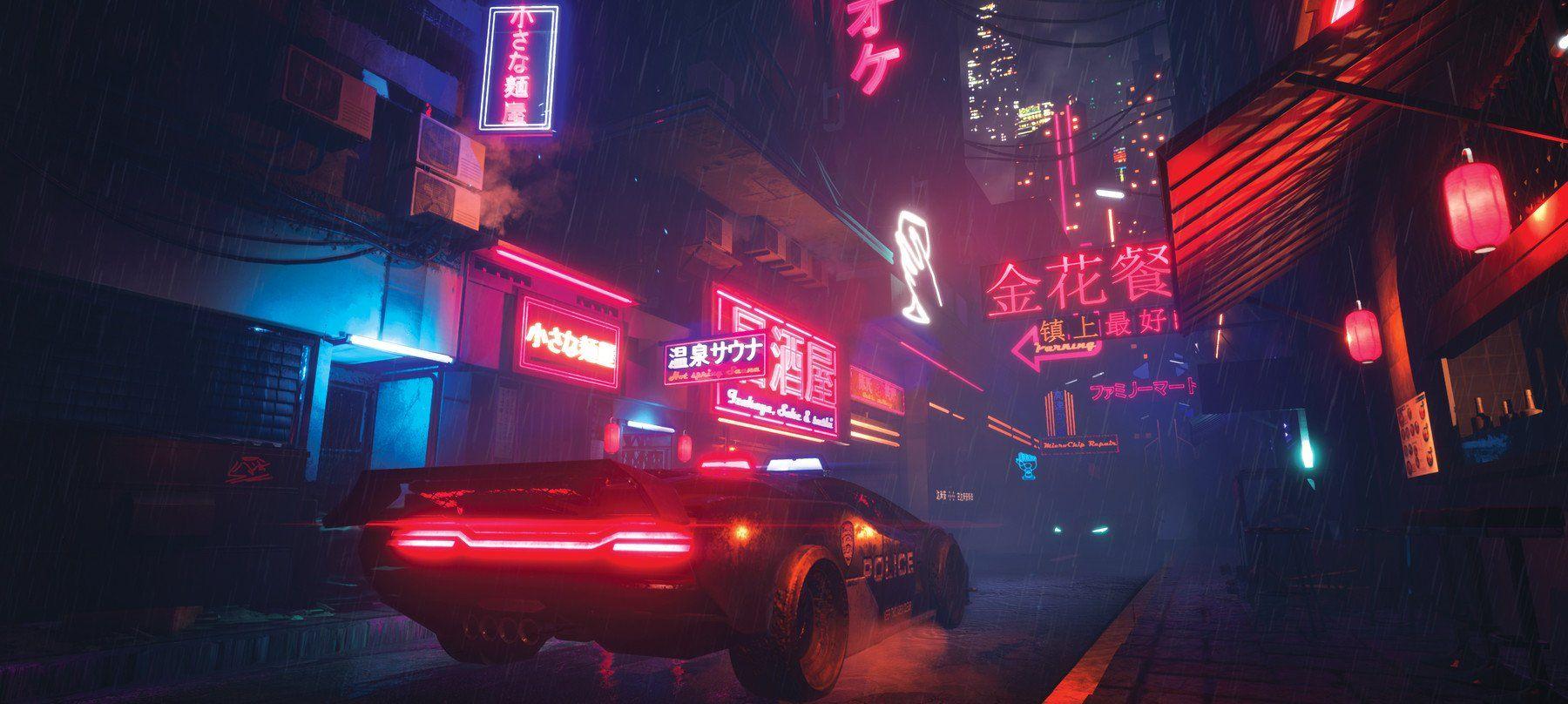 cyberpunk girl wallpaper