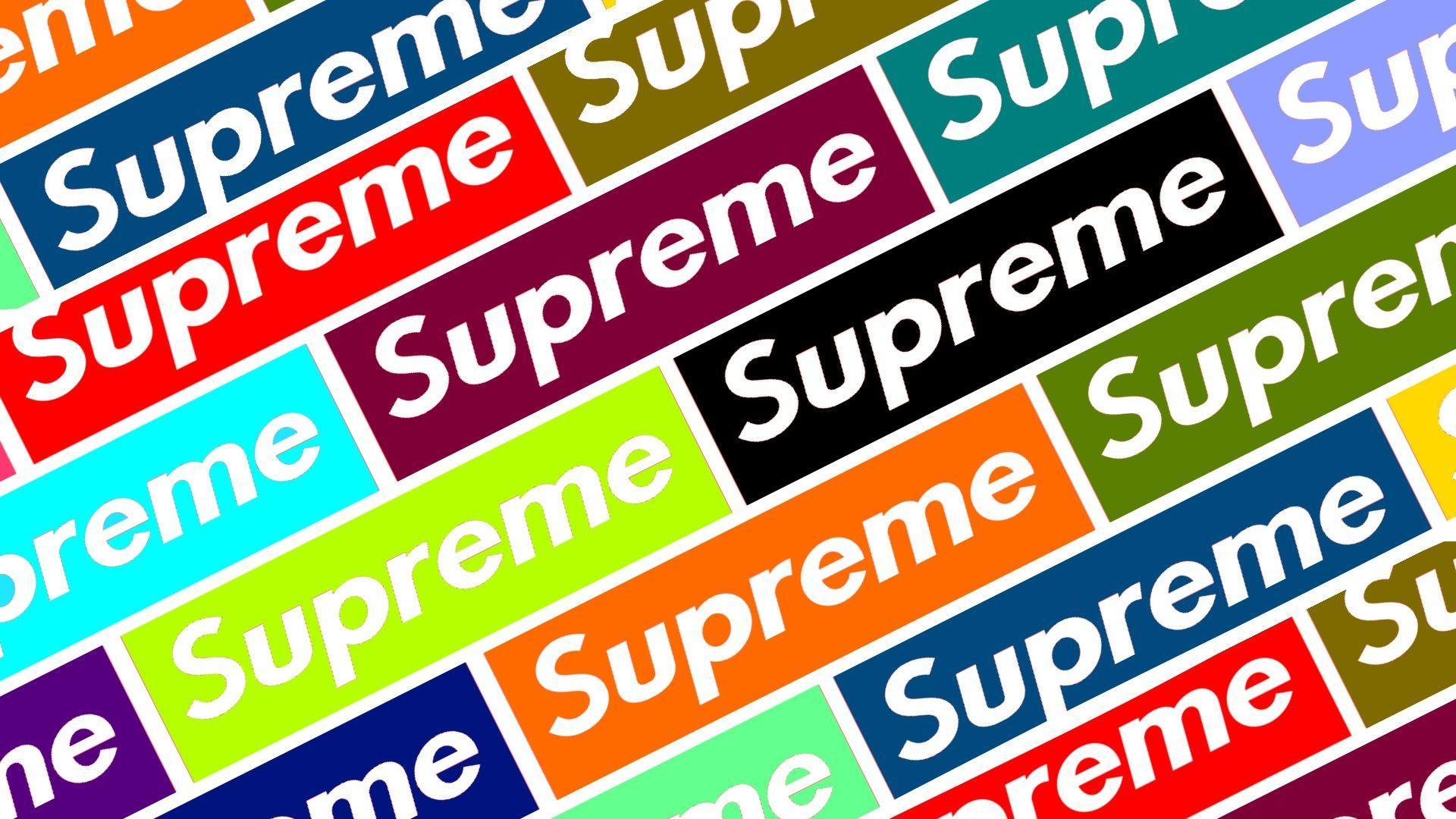 cool supreme wallpaper