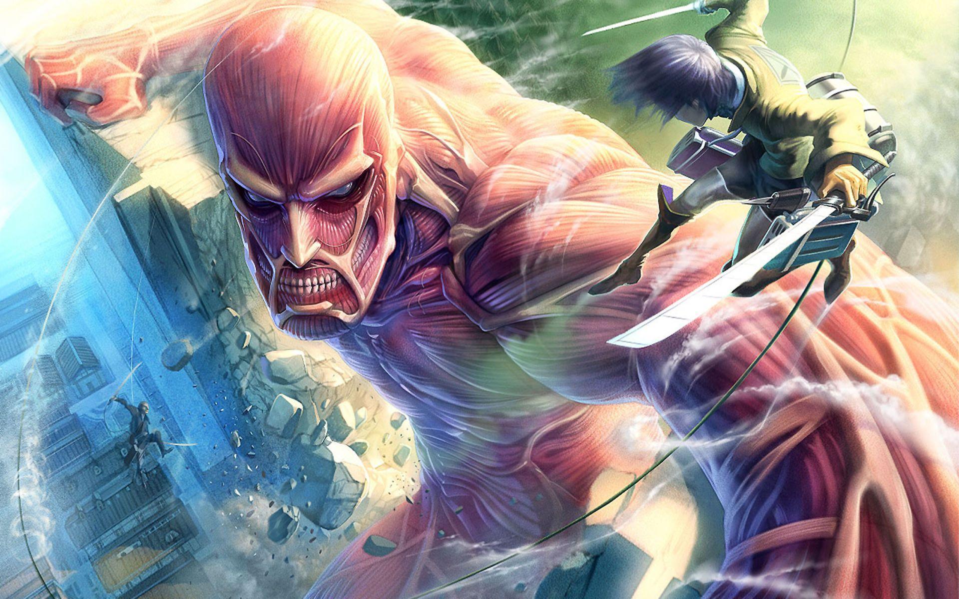 attack on titan wallpaper 4k