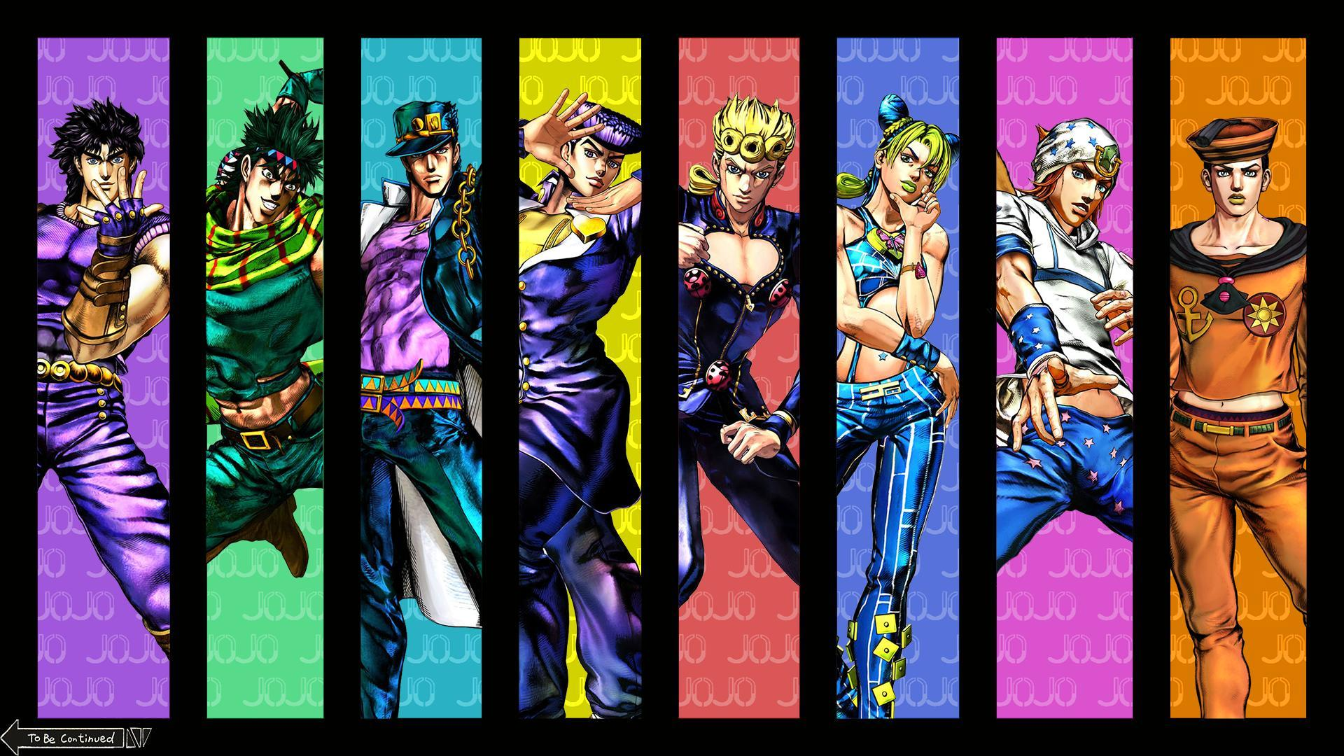 Jojo backgrounds