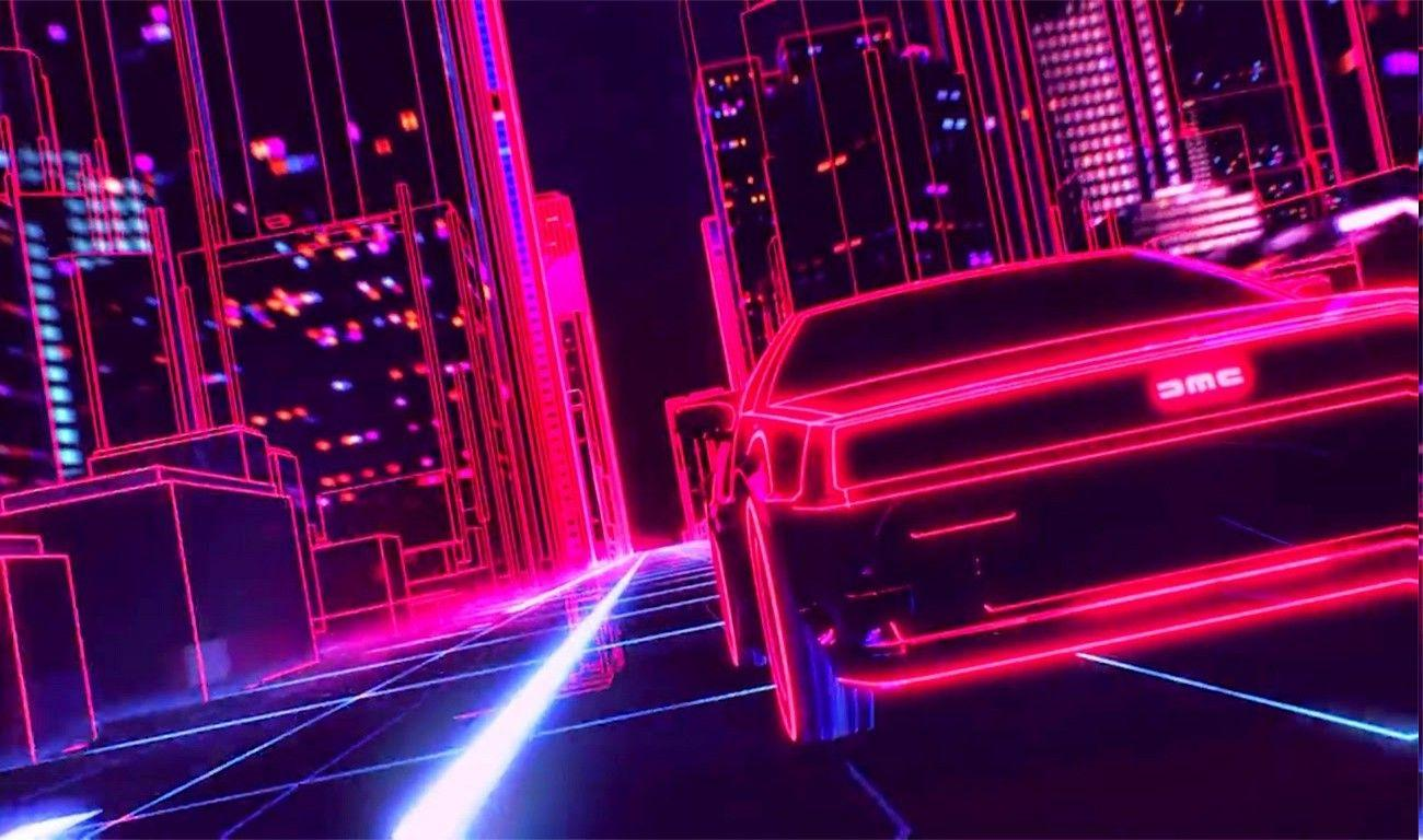 Synthwave Backgrounds