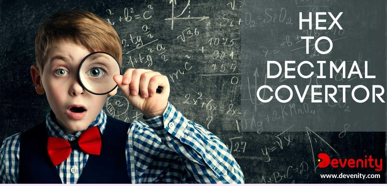 hex to decimal convertor